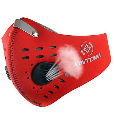 XINTOWN Unisex Lente Zomer Winter Herfst Face Mask Winddicht Stofbestendig Ademend Beperkt bacterieën Nylon Chinlon Recreatiesport