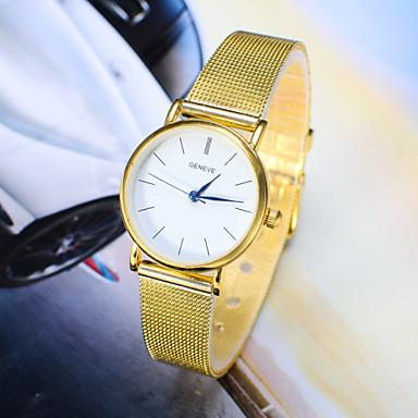 Dames Modieus horloge Kwarts Legering Band Zilver Goud Zilver Gouden