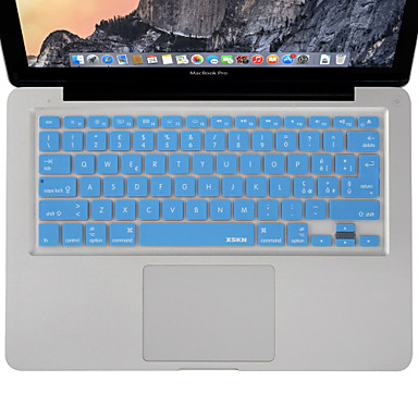 xskn ιταλικής γλώσσας πληκτρολογίου δέρμα κάλυψης σιλικόνης για το MacBook Air / MacBook Pro 13 15 17 μας ιντσών / εε έκδοση