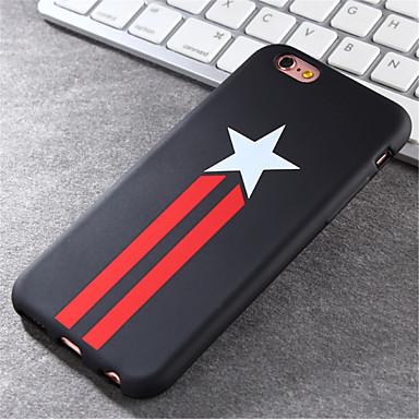 teste padrão de estrela caso de material TPU shell maré de telefone para iPhone 6 Plus / 6s mais