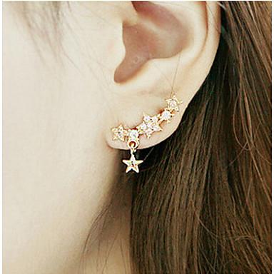 Dames Druppel oorbellen PERSGepersonaliseerd Kostuum juwelen Legering Stervorm Sieraden Voor