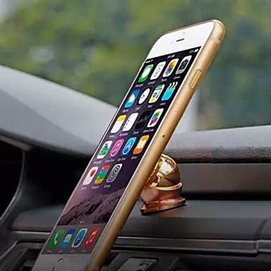 Carro iPhone 6 Plus iPhone 6 iPhone 5S iPhone 5 iPhone 5C iPhone 4/4S Universal Celular Suporte com Base Rotação 360° Fecho Magnético
