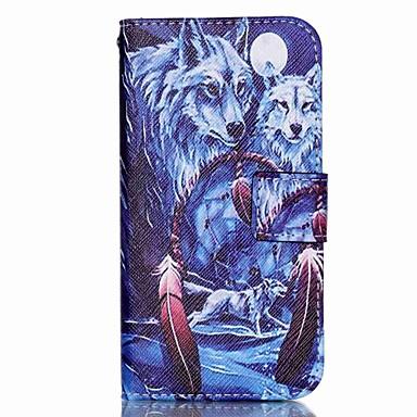 Capinha Para Samsung Galaxy Samsung Galaxy S7 Edge Porta-Cartão Carteira Com Suporte Flip Capa Proteção Completa Desenho Animado PU