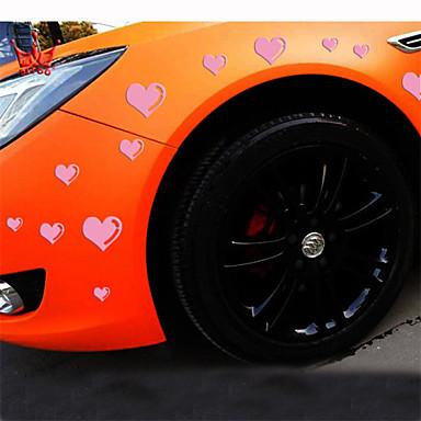 fényvisszaverő romantikus szerelem személyiség autó matricák (15pcs / szett)