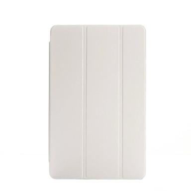 케이스 제품 iPad Air 2 스탠드 자동 슬립 / 웨이크 기능 오리가미 전체 바디 케이스 한 색상 PU 가죽 용