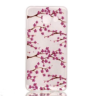 용 삼성 갤럭시 케이스 야광 / 패턴 케이스 뒷면 커버 케이스 꽃장식 TPU Samsung A3(2016)