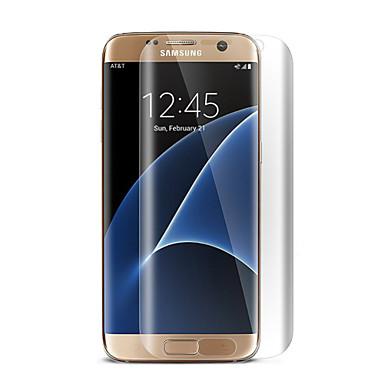 Protetor de Tela Samsung Galaxy para S7 edge PET Protetor de Tela Frontal Alta Definição (HD)