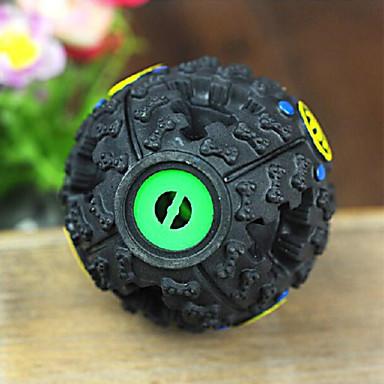 rire jouet pour chien régal pour animaux de compagnie distributeur balle rire charlatan balle alimentaire saine pour chiens chats animaux (7cm de