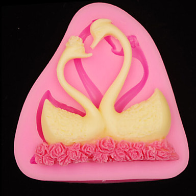 베이킹 몰드 동물 초콜렛 파이 케이크 실리콘 고무 생일 고품질 3D