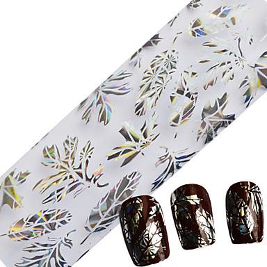 1pcs Glitter & Poudre Fóliázó szalag Virág Divat Napi Jó minőség