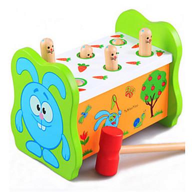 educatieve hamster percussie fruitworm grote houten speelgoed voor kinderen op de vroege jeugd