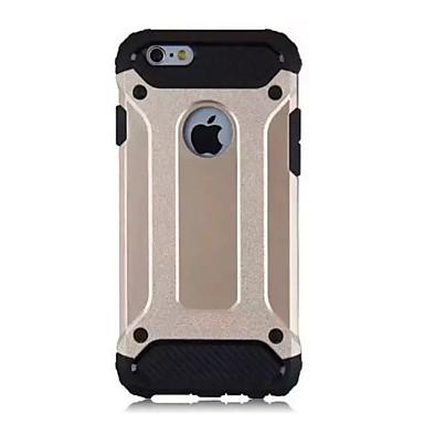 Mert iPhone 6 tok / iPhone 6 Plus tok Ütésálló Case Hátlap Case Páncél Puha TPU Apple iPhone 6s Plus/6 Plus / iPhone 6s/6