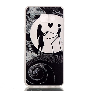 Mert Samsung Galaxy tok Minta Case Hátlap Case Rajzfilmfigura TPU Samsung A3(2016)