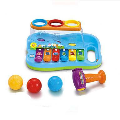 아이들을위한 퍼즐 음악 장난감 옐로우 / 레드 / 블루 복근