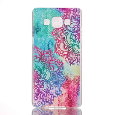 Para Samsung Galaxy Capinhas Estampada Capinha Capa Traseira Capinha Mandala PC Samsung A7(2016) / A5(2016) / A3(2016) / A5 / A3