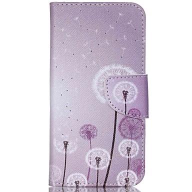 Capinha Para Acer Capinhas Acer Porta-Cartão Com Suporte Flip Estampada Corpo Inteiro dandelion Rígida Couro Ecológico para