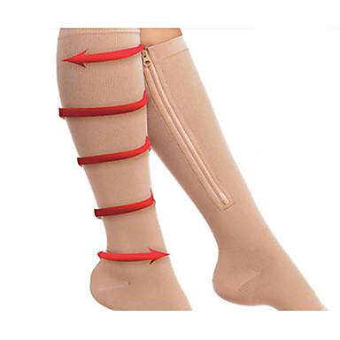 Κολάν Κάλτσες Γκέτες Λαστέξ μηρών Γυναικεία Chinlon Μαύρο Αυθεντικό