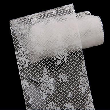 1 3D-s körömáblák Fóliázó szalag Absztrakt Divat Napi Jó minőség