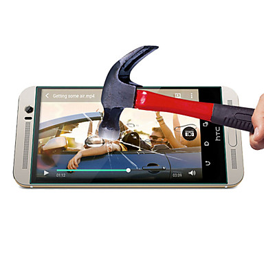 0,3 mm-es edzett üveg kijelző védő mikroszálas kendővel HTC One m7