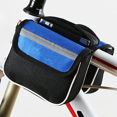 Kerékpáros táska 2L Váztáska Porbiztos Viselhető Ütésálló Csúszásmentes Kerékpáros táska Poliészter Mesh Kerékpáros táska Összes