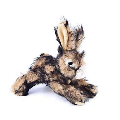 Pluche speelgoed piepen Konijn tekstiili Voor Kat Hond