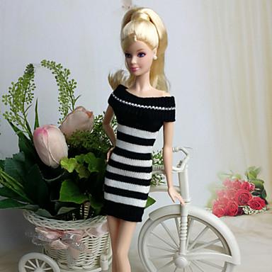 Vestidos Para Boneca Barbie Vestidos Para Menina de Boneca de Brinquedo