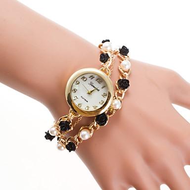 Dames Armbandhorloge Modieus horloge Kwarts Vrijetijdshorloge Legering Band Elegant Meerkleurig