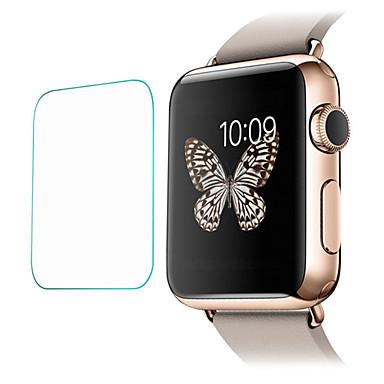 billige Apple Watch skærmbeskyttelse-Skærmbeskytter Til iWatch 38mm Hærdet Glas 2.5D bøjet kant 9H hårdhed 2 Stk.