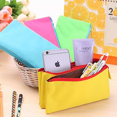 Groen / Blauw / Geel-Schattig / Zakelijk / Multifunctionele-Textiel-Vaste zakken-