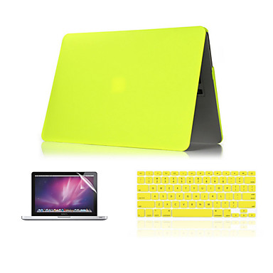 3 em 1 mate caso duro + capa de teclado + protetor de tela para MacBook Air 11