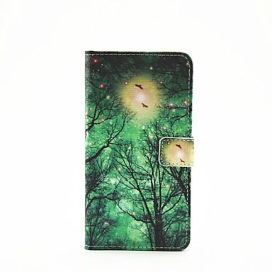 caso de vaga-lume padrão de raios pintados pu de telefone para a3 galáxia (2016) / A5 (2016) / a7 (2016) / a9