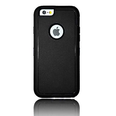 케이스 제품 Apple iPhone 6 iPhone 6 Plus 충격방지 뒷면 커버 한 색상 소프트 TPU 용 iPhone 6s Plus iPhone 6s iPhone 6 Plus iPhone 6