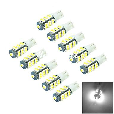 T10 Autó Kamionok & utánfutók Motorbicikli 1 W SMD 3528 6000-6500 Ködlámpa Menetfény Csík világítás Oldal marker fény LED angyal szemek