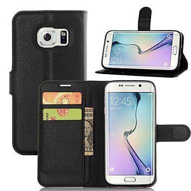 Недорогие Чехлы и кейсы для Galaxy A7-Кейс для Назначение SSamsung Galaxy A3 (2017) / A5 (2017) / A7 (2017) Бумажник для карт / со стендом / Флип Чехол Однотонный Кожа PU