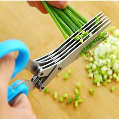Aço Inoxidável Gadget de Cozinha Criativa Vegetais Scissor