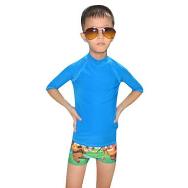 Crianças Mergulho Skins Resistente Raios Ultravioleta Náilon Chinês Fato de Mergulho Manga CurtaAnti Atrito Roupas de Mergulho Roupa de