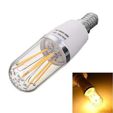 E14 Izzószálas LED lámpák T 6 LED COB Dekoratív Meleg fehér Hideg fehér 2800/6500lm 2800/6500kK AC 85-265V