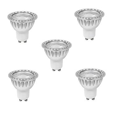 3W GU10 Lâmpadas de Foco de LED MR16 1 leds COB Regulável Branco Quente Branco Frio 280-350lm 3000K AC 220-240V