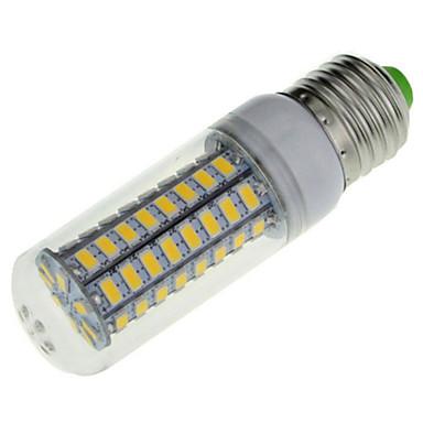 ywxlight® 7w e14 e26 / e27 luzes de milho conduzidas 72 smd 5730 600 lm branco quente branco frio branco decorativo 220-240 v 1pc