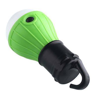 화이트 색상 캠핑 야외 비상 조명 휴대용 십t 밤 램프 하이킹 랜턴을 3leds