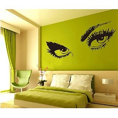 사람 정물 모양 3D 벽 스티커 플레인 월스티커 데코레이티브 월 스티커, 비닐 홈 장식 벽 데칼 벽