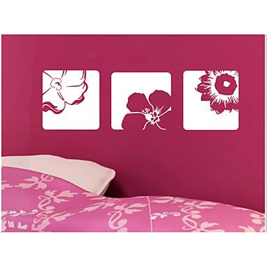 플로럴 / 풍경 / 모양 / 3D 벽 스티커 3D 월 스티커,vinyl 56*58cm