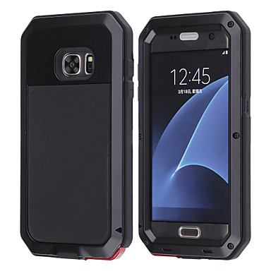 Case For Samsung Galaxy Samsung Galaxy Case Shockproof / Water Resistant Full Body Cases Animal Hard Metal for S6 Edge S6 Edge Plus  S7 Edge S8 S8 Plus (only S4 S5 S6 S7 with tempered glasses)