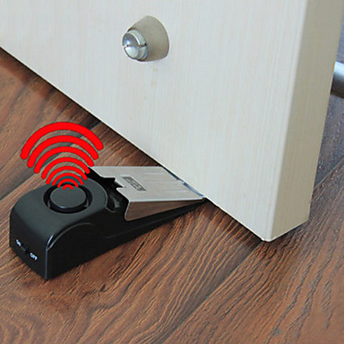 ieftine Decor Casă-portabile electrice portiere de alarmă alarmă clopot de siguranță pană sirenă alarmă opritor ușa