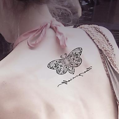 Tetkó matricák Állatos sorozatok rajzfilmsorozat Rajzfilm Női Férfi Felnőtt Tini flash-Tattoo ideiglenes tetoválás