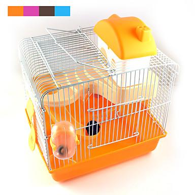 새로운 핫 판매 고품질의 플라스틱 멀티 - 색된 성 고조 애완 동물 햄스터 케이지 햄스터 빌라