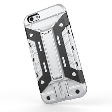 Mert iPhone 6 tok / iPhone 6 Plus tok Ütésálló / Állvánnyal Case Hátlap Case Páncél Kemény PC iPhone 6s Plus/6 Plus / iPhone 6s/6