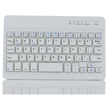 Bluetooth 3.0 billentyűzet ipad mini 1/2/3/4 és 7 ~ 8 hüvelykes tábla (vegyes színek)