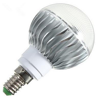 E14 B22 E26/E27 LED-bollampen G60 1 leds Krachtige LED Dimbaar Op afstand bedienbaar RGB 540lm 2800-6500K AC 85-265V