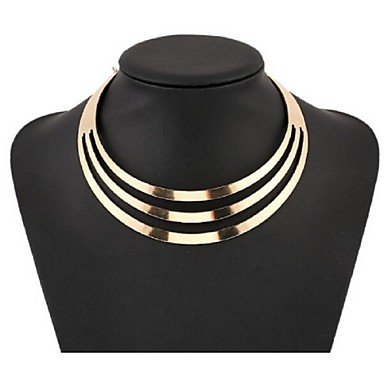 4e49fac8c cheap Necklaces-Women  039 s Pearl Layered Bib Choker Necklace Statement  Necklace Ladies